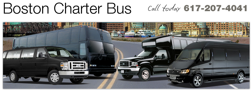 Boston Charter Bus Rentals from bostoncharterbus.org