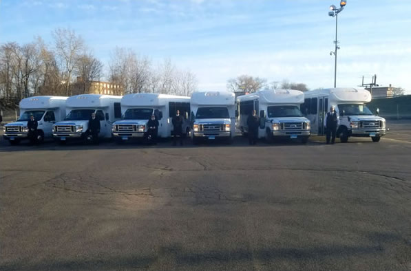 rental corporate shuttle services at Boston Charter Bus Inc.