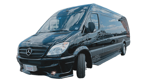 executive passenger vans at Boston Charter Bus Services